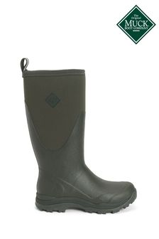 Muck Boots Green Outpost Tall Wellington Boots