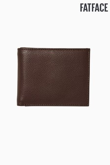 FatFace Brown Classic Grained Wallet
