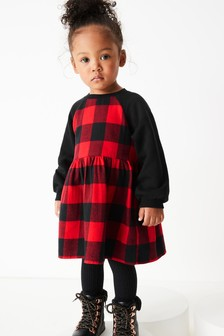 Woven Checked Dress (3mths-7yrs)