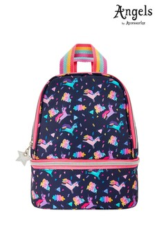 Angels by Accessorize Blue Super Hero Unicorn Lunch Bag