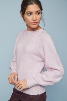 Lofty Volume Sleeve Jumper