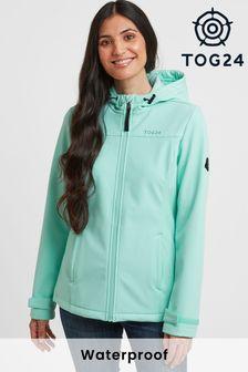 Tog 24 Womens Blue Keld Hooded Softshell Jacket