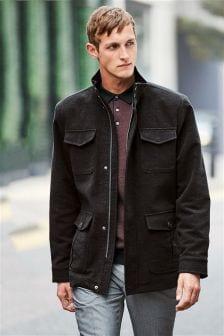 4 Pocket Moleskin Coat