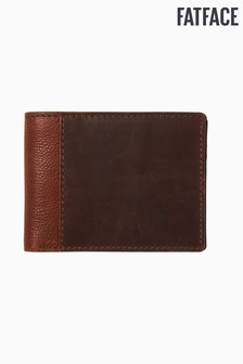 FatFace Brown Colourblock Wallet