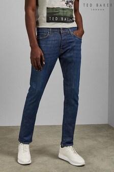 Ted Baker Tweete taps toelopende jeans met gemiddelde wassing