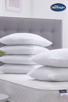 6 Pack Cotton Covered Pillows by Silentnight