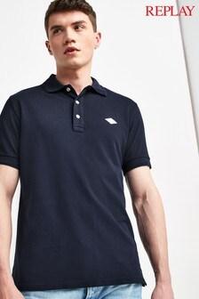 Replay® Blue Poloshirt
