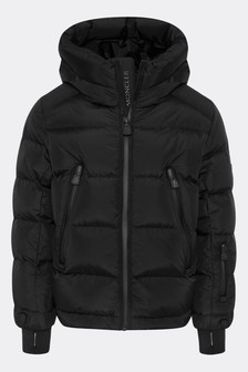 Grenoble Boys Black Down Padded Staffal Ski Jacket