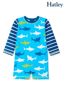 Hatley Great White Sharks Baby One-Piece Rashguard