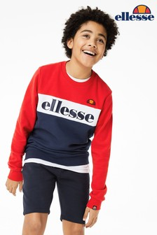 Ellesse® Junior Denomino Crew Neck Sweater