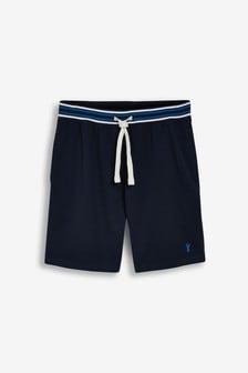 Stripe Waistband Lightweight Shorts