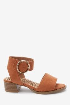 Buckle Heel Sandals (Older)