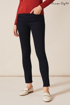 Phase Eight Blue Aida High Waisted Skinny Jeans