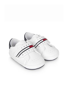 Tommy Hilfiger Shoes Baby Kids White Trainers