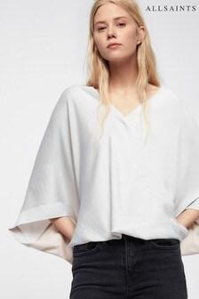 AllSaints White Irina Shrug