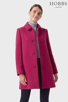 Hobbs Pink Fia Coat