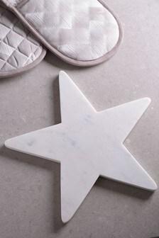 Marble Star Trivet