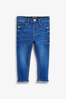 Regular Fit Jeans With Stretch (3mths-7yrs)