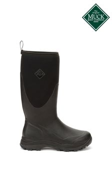 Muck Boots Black Outpost Tall Wellington Boots