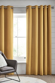 Dalby Eyelet Lined Curtains