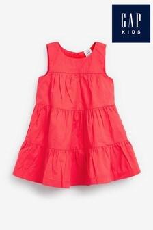 Gap Sleeveless Tiered Dress