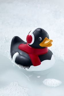 Christmas Penguin Rubber Duck