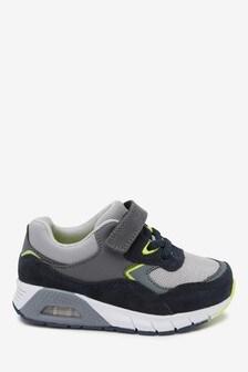 נעלי ספורט בדוגמת בועות עם שרוכים אלסטיים (ילדים)
