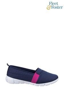 Fleet & Foster Blue Canary Summer Shoes