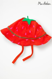 Boden Red Novelty Swim Hat