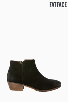 FatFace Black Lytham Chelsea Ankle Boots