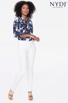 NYDJ Alina Denim-Jeans, Optisch Weiß