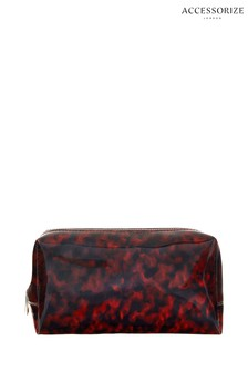 Accessorize Animal Tort Clear Make Up Bag