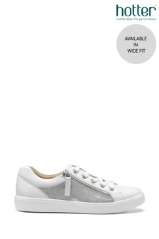 Hotter Chase Wide Fit Zip Fastening Trainers