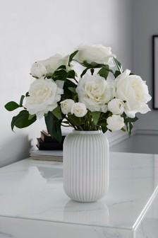 Artificial Roses Mix in Vase
