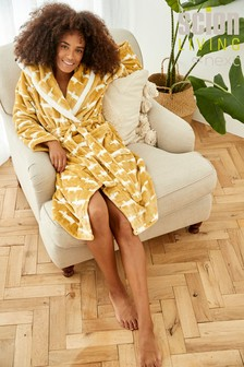Scion Exclusively to Next Ochre Fox Cosy Robe