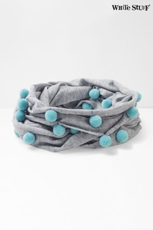 White Stuff Grey Pom Pom Snood