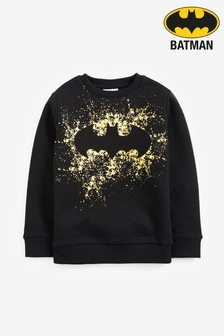 Batman® Splat Crew Neck Sweater (3-16yrs)