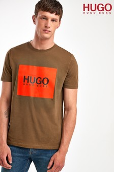 HUGO Green Dolive Logo T-Shirt