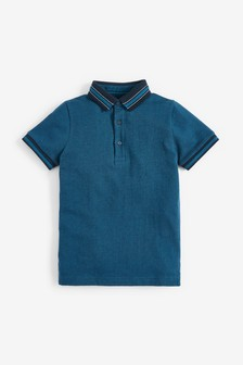 Textured Smart Polo (3-16yrs)