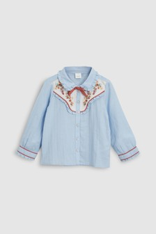 Rodeo Ruffle Blouse (3mths-6yrs)