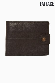 FatFace Black Popper Detail Wallet