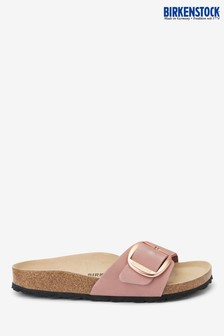 Birkenstock® Light Pink Big Buckle Madrid Sandals