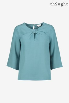 Thought Blue Valentina Blouse