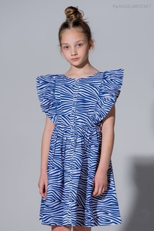 Angel & Rocket Animal Zebra Dress
