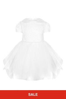 Bimbalo Girls White Dress