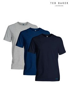 Ted Baker Blue/Black T-Shirts Three Pack