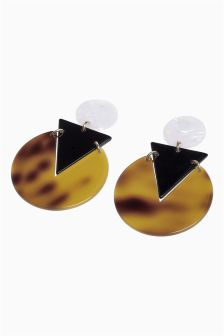 Resin Drop Earrings