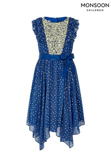 Monsoon Blue Enchanted Dress