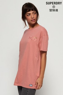 Superdry Mila Oversized Graphic T-Shirt
