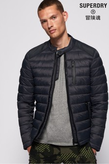 Superdry Commuter Quilted Biker Jacket